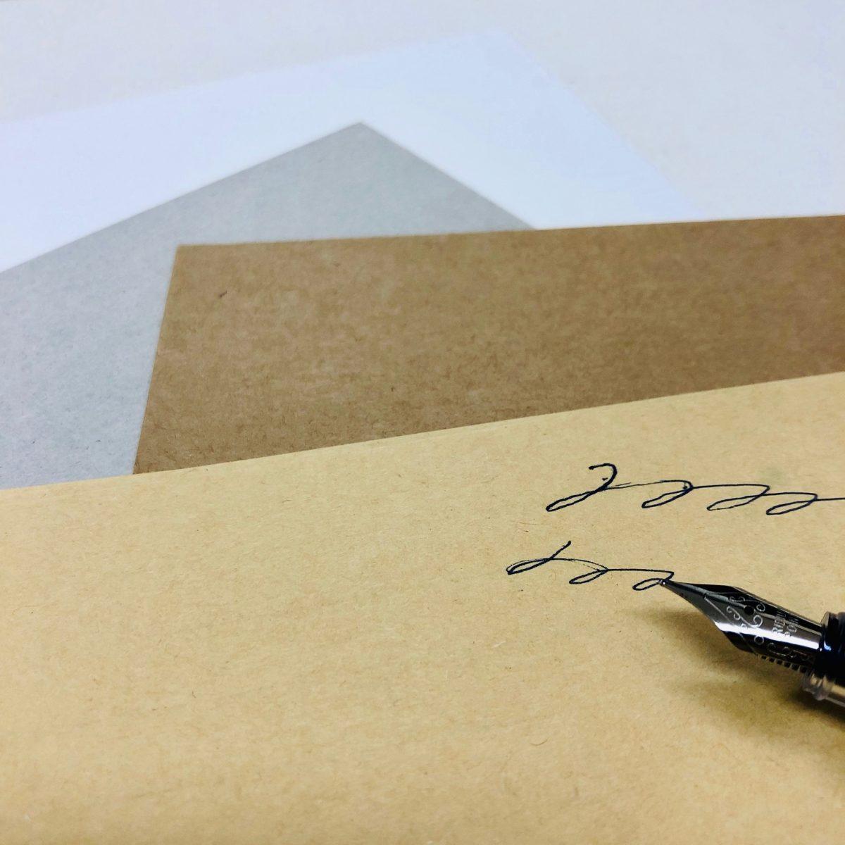 本文用紙:特殊紙